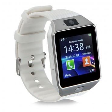 DZ09 Bluetooth és NFC okosóra Android és iOS készülékekhez – ezüst színű