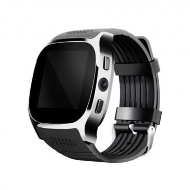 """""""GT-X0"""" Bluetooth és NFC okosóra Android készülékekhez - fekete"""