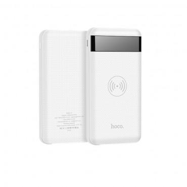 """Hordozható elem és vezeték nélküli töltőállomás """"Power Display"""" minden QI támogatott mobil készülékhez - 10000 mAh"""