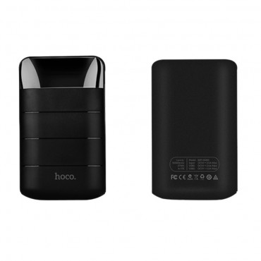 "Power bank Hoco ""Domon""- 10000 mAh – fekete"