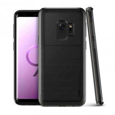 """VRS Design """"High Pro Shield"""" védőtok Samsung Galaxy S9 készülékekhez – metal black"""