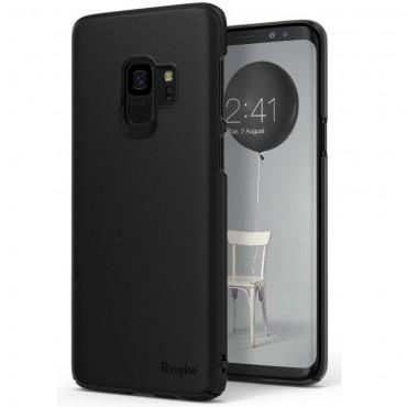 """Ringke """"Slim"""" védőtok Samsung Galaxy S9 készülékekhez – black"""