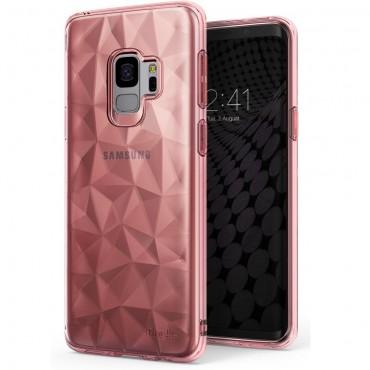 "Ringke ""Air Prism"" borító Samsung Galaxy S9 telefonokhoz - rose gold"
