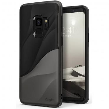 """Ringke """"Wave"""" védőtok Samsung Galaxy S9 készülékekhez – metallic chrome"""