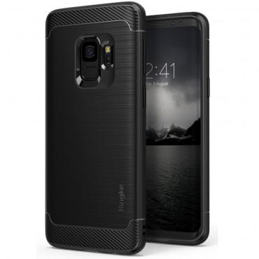 """Ringke """"Onyx"""" védőtok Samsung Galaxy S9 készülékekhez – fekete"""