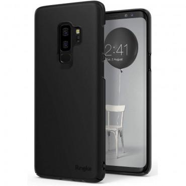 """Ringke """"Slim"""" védőtok Samsung Galaxy S9 Plus készülékekhez – black"""