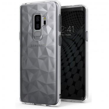 "Ringke ""Air Prism"" borító Samsung Galaxy S9 Plus telefonokhoz - crystal clear"