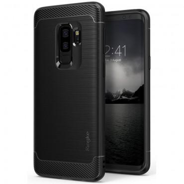 """Ringke """"Onyx"""" védőtok Samsung Galaxy S9 Plus készülékekhez – fekete"""