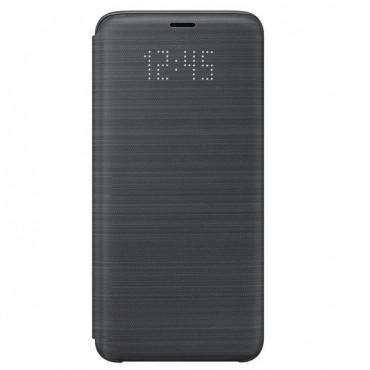 "Eredeti Samsung ""LED View"" védőtok Samsung Galaxy S9 - fekete"