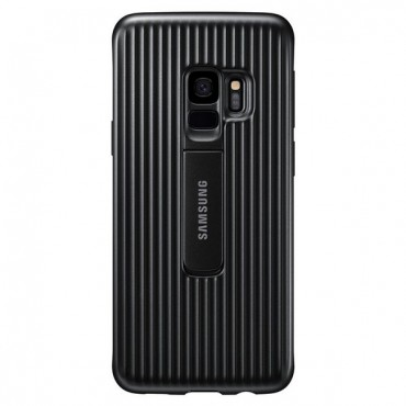 "Eredeti Samsung ""Protective Standing Cover"" védőtok Samsung Galaxy S9 - fekete"