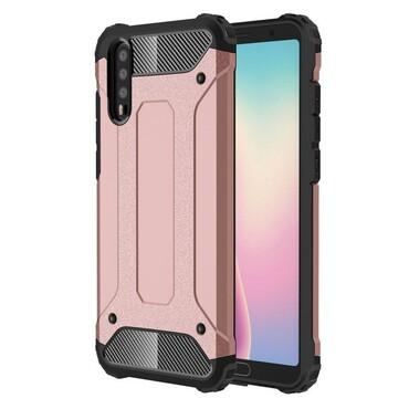 """Strapabíró """"Rock"""" védőtok Huawei P20 készülékekhez – rózsaszín"""