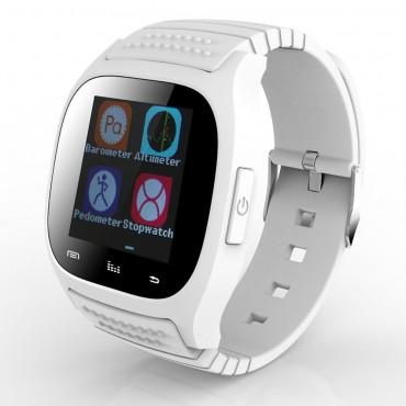 """""""GT-X0"""" Bluetooth és NFC okosóra Android készülékekhez - fehér"""
