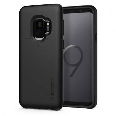 """Tok Spigen """"Slim Armor CS"""" Samsung Galaxy S9 készülékekhez - black"""