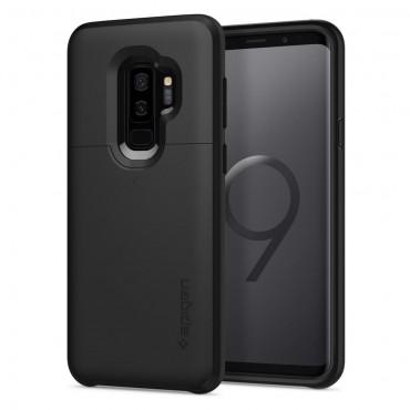 """Tok Spigen """"Slim Armor CS"""" Samsung Galaxy S9 Plus készülékekhez - black"""