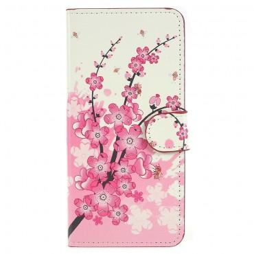 """Divatos """"Flower Bloom"""" tárca Huawei P20 készülékekhez"""