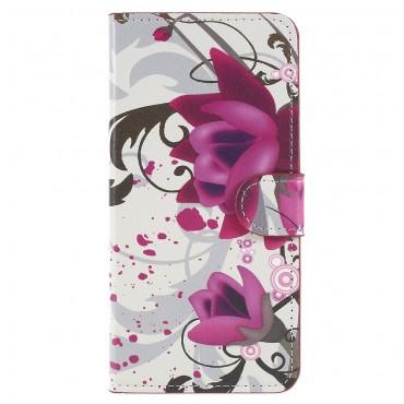 """Divatos """"Lotus Flower"""" tárca Huawei P20 készülékekhez"""
