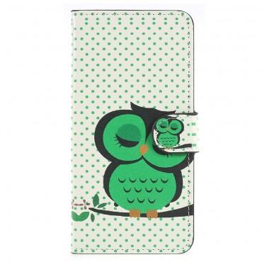 """Divatos """"Sleeping Owl"""" tárca Huawei P20 készülékekhez"""