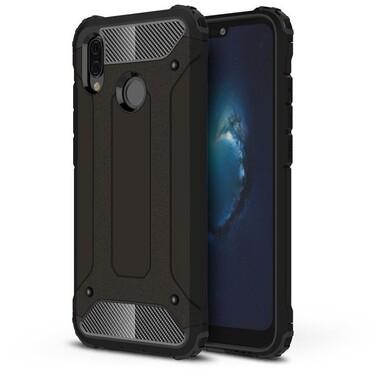 """Strapabíró """"Rock"""" védőtok Huawei P20 Lite készülékekhez – fekete"""