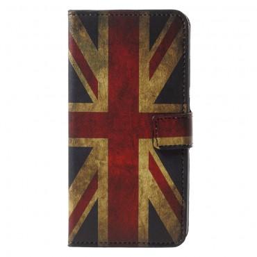 """Divatos """"Retro UK"""" tárca Huawei P20 Pro készülékekhez"""