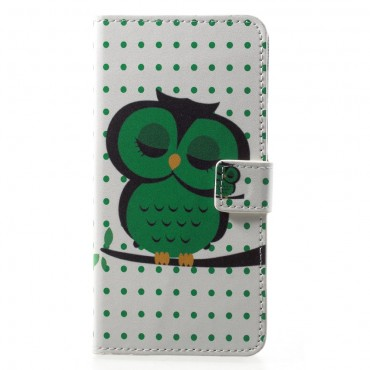 """Divatos """"Sleeping Owl"""" tárca Huawei P20 Pro készülékekhez"""