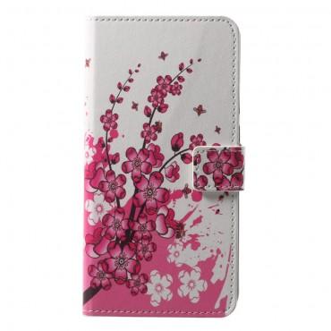 """Divatos """"Flower Bloom"""" tárca Huawei P20 Pro készülékekhez"""