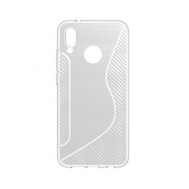 S-Line TPU géles védőtok Huawei P20 Lite készülékekhez – átlátszó