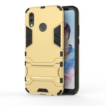 """Strapabíró """"Impact X"""" védőtok Huawei P20 Lite készülékekhez – aranyszínű"""