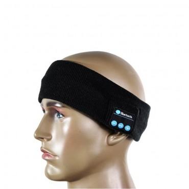 Bluetooth sportos fejpánt – fekete