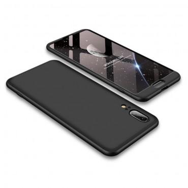 """Elegáns full body tárca """"Sleek"""" a Huawei P20 készülékhez – fekete"""