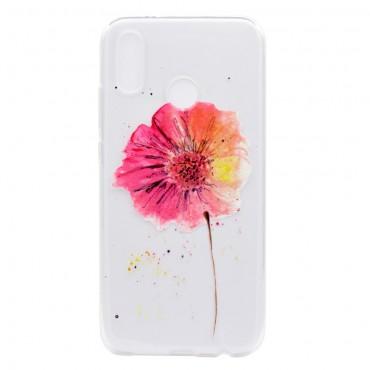 """Vékony TPU géles """"In Bloom"""" védőtok Huawei P20 Lite készülékekhez"""