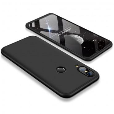 """Elegáns full body tárca """"Sleek"""" a Huawei P20 Lite készülékhez – fekete"""