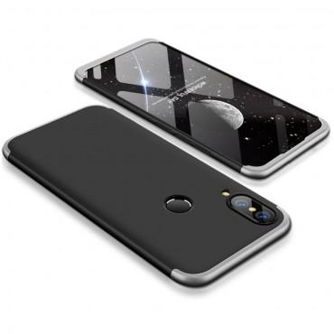 """Elegáns full body tárca """"Sleek"""" a Huawei P20 Lite készülékhez – fekete-fehér"""