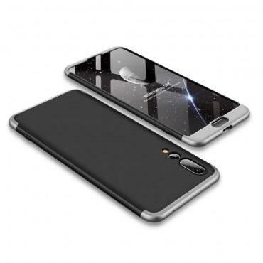 """Elegáns full body tárca """"Sleek"""" a Huawei P20 Pro készülékhez – fekete-fehér"""