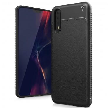 """TPU gél tok """"Gentry"""" Huawei P20 Pro készülékekhez - fekete"""
