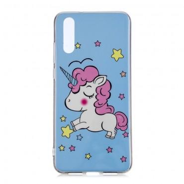 """Világító """"Unicorn"""" védőtok Huawei P20 Pro készülékhez"""
