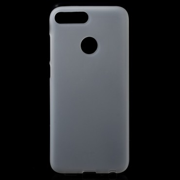 TPU gél tok Huawei Honor 9 Lite készülékekhez - fehér