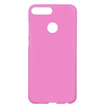 TPU gél tok Huawei Honor 9 Lite készülékekhez - rózsaszín