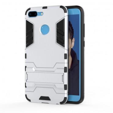 """Strapabíró """"Impact X"""" védőtok Huawei Honor 9 Lite készülékekhez – ezüstszínű"""