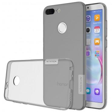 """Prémium vékony tok """"Nature"""" Huawei Honor 9 Lite készülékekhez - szürke"""