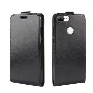 Divatos flip tárca Huawei Honor 9 Lite készülékekhez – fekete