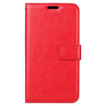 """Divatos """"Smooth"""" tárca Xiaomi Redmi 5A készülékekhez - piros"""