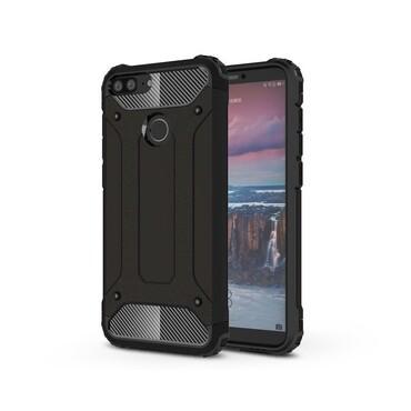 """Strapabíró """"Rock"""" védőtok Huawei Honor 9 Lite készülékekhez – fekete"""