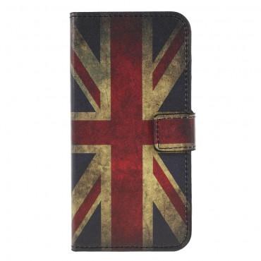 Retro UK TPU géles védőtok Huawei Honor 9 Lite készülékekhez