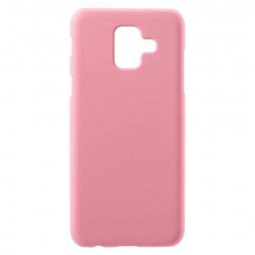 Kemény TPU védőtok Samsung Galaxy A6 2018 készülékekhez – rózsaszín