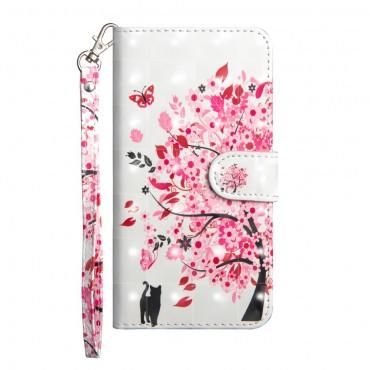"""Divatos """"In Bloom"""" tárca Huawei P20 Pro készülékekhez"""