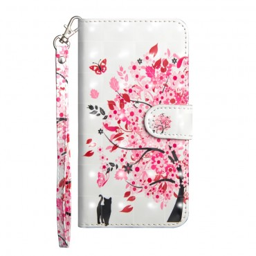 """Divatos nyitható tok """"In Bloom"""" Huawei P20 Pro készülékekhez"""