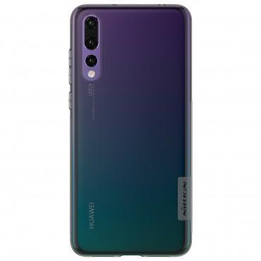 """Vékony """"Nature"""" prémium védőtok Huawei P20 Pro készülékekhez – szürke"""