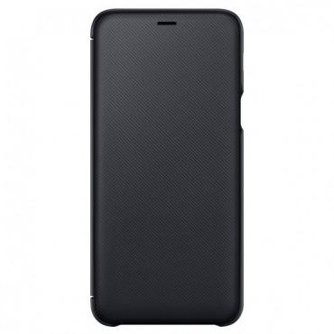 "Eredeti ""Wallet Cover"" védőtok Samsung Galaxy A6 Plus 2018 - fekete"