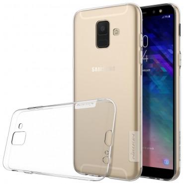 """Prémium vékony tok """"Nature"""" Samsung Galaxy A6 2018 készülékekhez - átlátszó"""