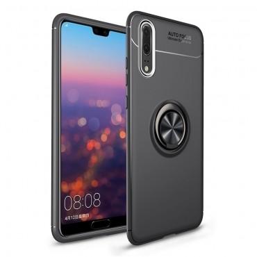 Multi Ring TPU géles védőtok Huawei P20 Pro készülékekhez – fekete
